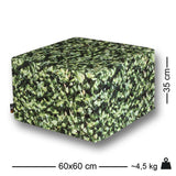 Hornbeam Square Ottoman Outdoor