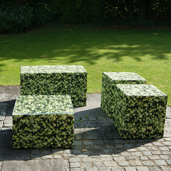 Hornbeam Square Seat Ottoman Outdoor