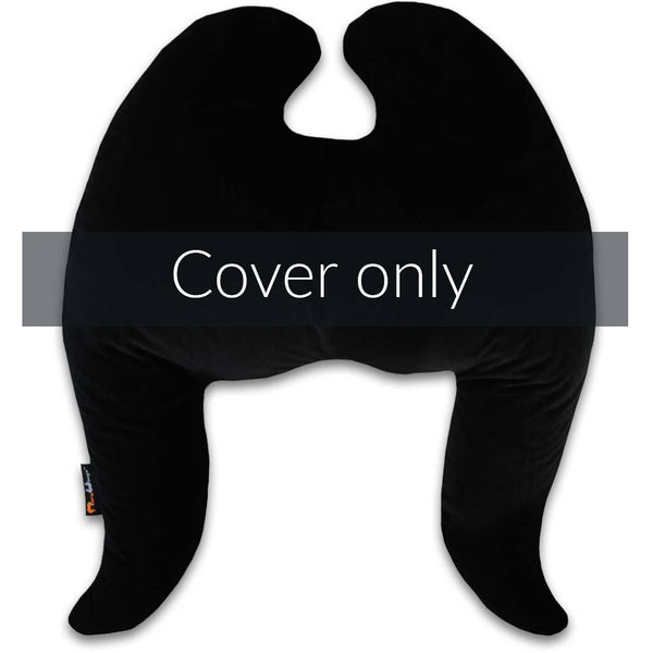 Classic Wings Pillow Cover Black