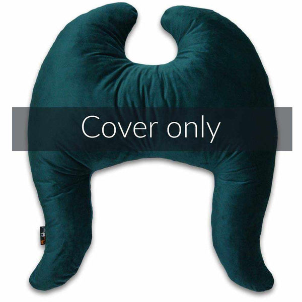 Classic Wings Pillow Cover Petrol Blue