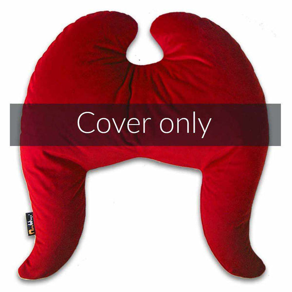 Classic Wings Pillow Cover Royal Red