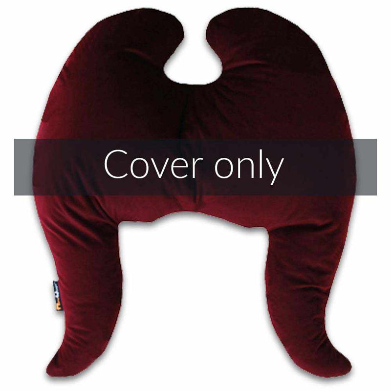 Classic Wings Pillow Cover Wine