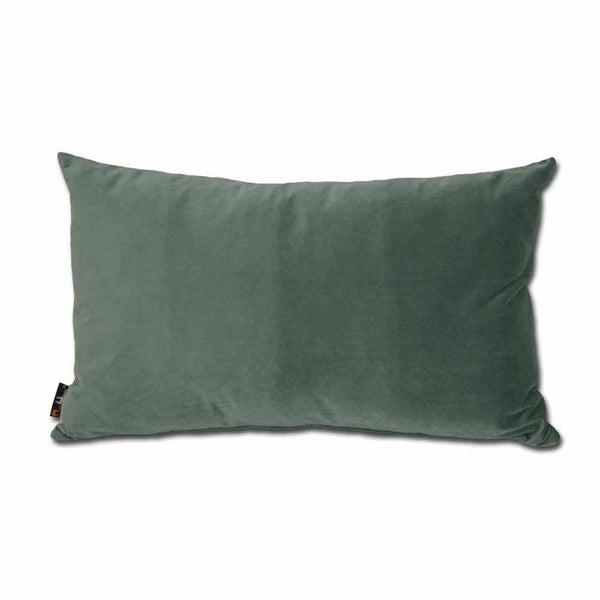 Luxury Velvet Rectangular Cushion Jade - 40 x 68 cm