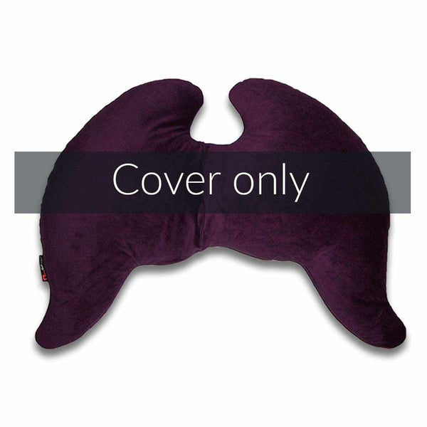 Joy Wings Pillow Cover Amethyst