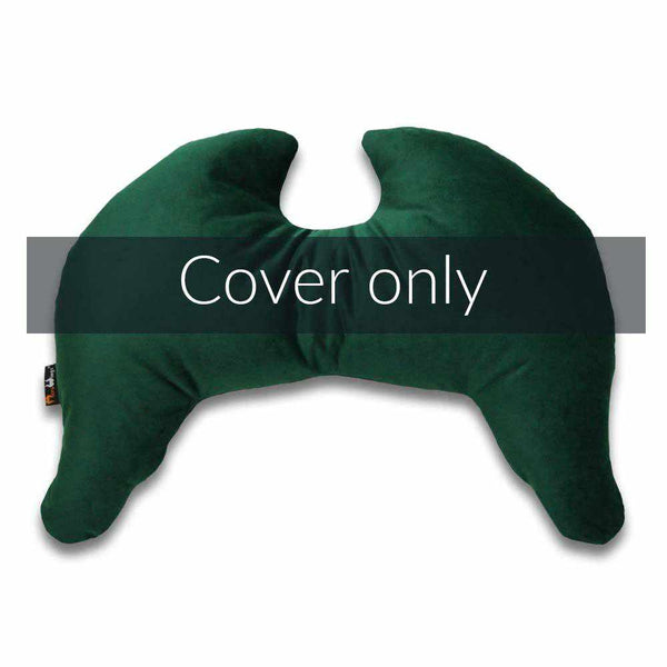 Joy Wings Pillow Cover Forest Green