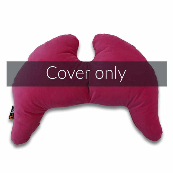 Joy Wings Pillow Cover Deep Pink