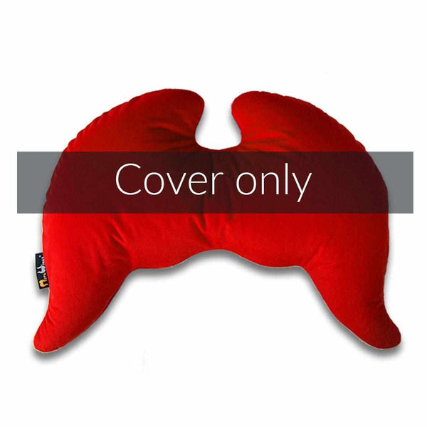 Joy Wings Pillow Cover Royal Red