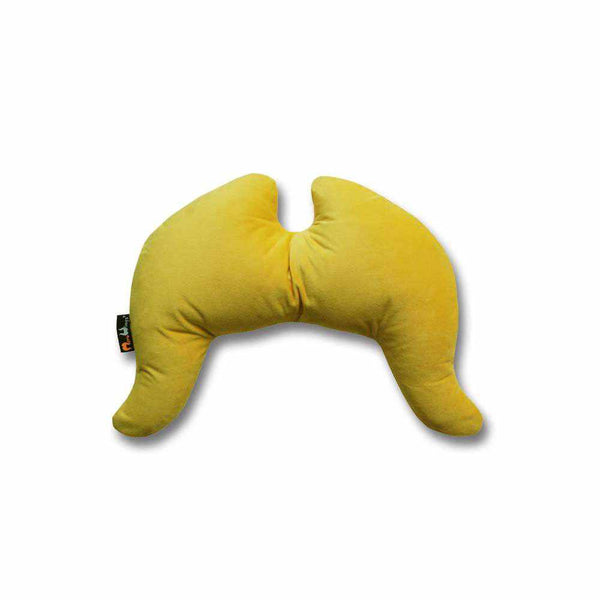Travel Wings Pillow Tweet-Yellow
