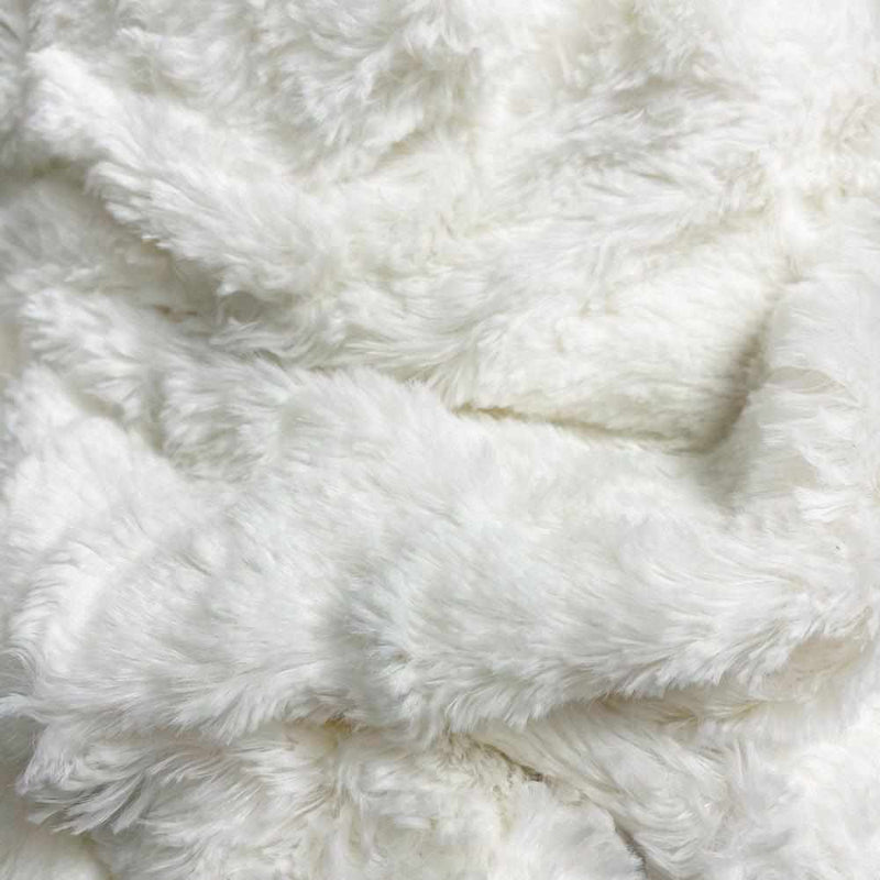 Grace Wings Pillow Naboa - Faux Fur, Cream-White