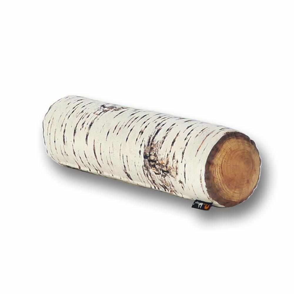 Nordic Birch Tree Log Cushion