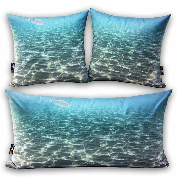 Ocean Rectangular Cushion - 45 x 74 cm