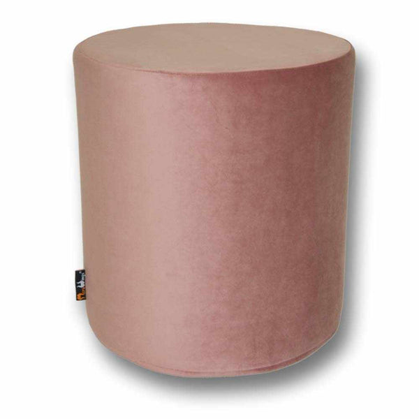 Samthocker Luxury Velvet Dusty Rose