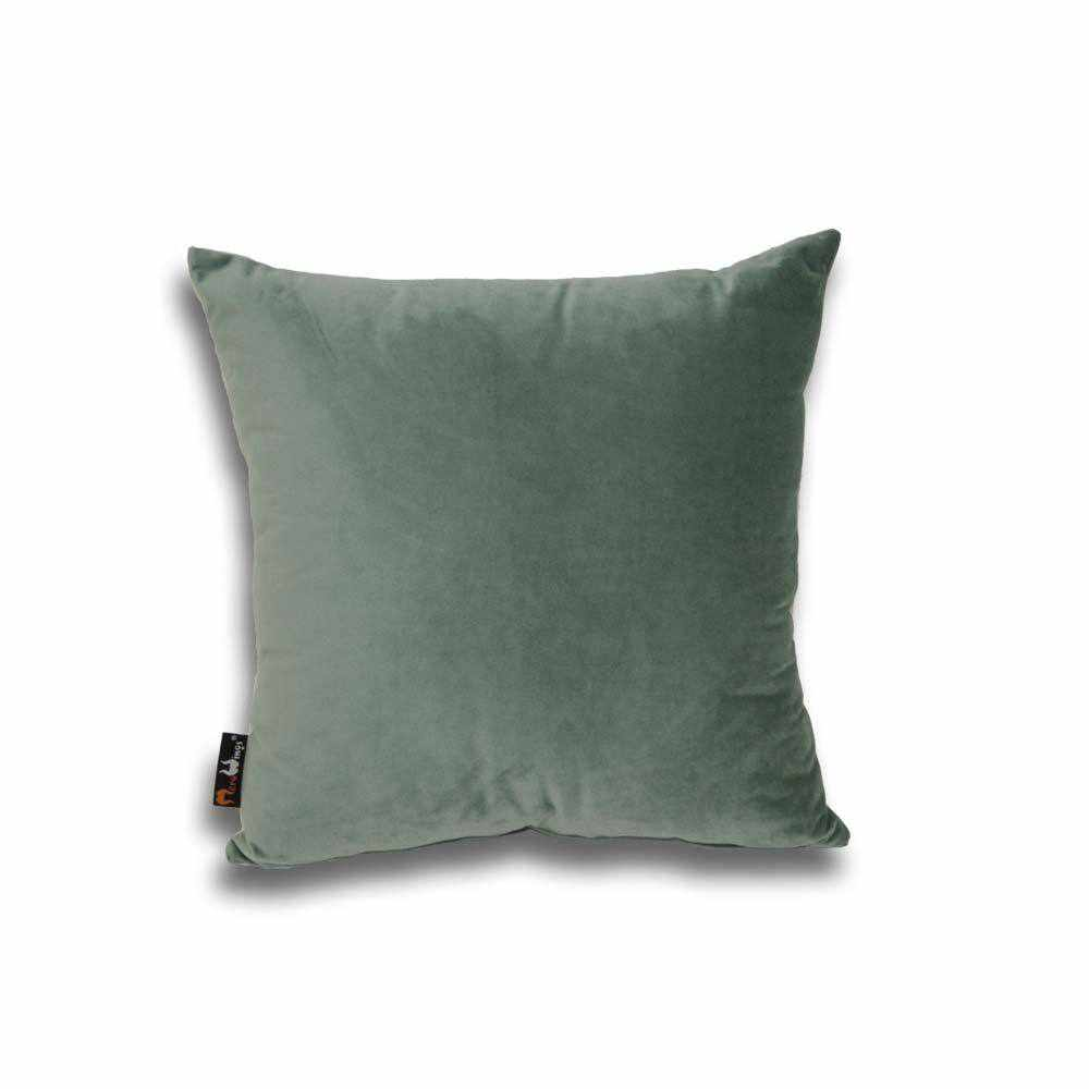 Luxury Velvet Square Cushion Jade - 40 x 40 cm