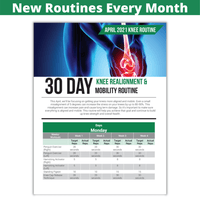The Feel Good Knees Club: New Routines Every Month for Lifelong Knee Health (Booklet + Digital Access)