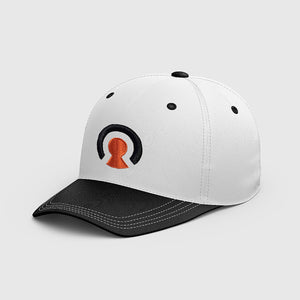 60out Snapback Hat (White)