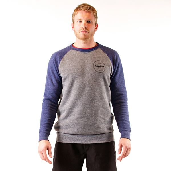 Two Tone Crewneck Sweatshirt