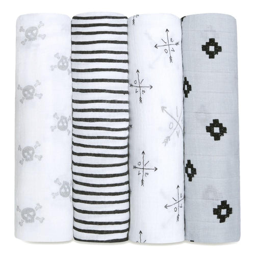 aden + anais lovestruck 4 pack swaddles