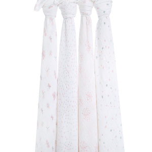 aden + anais lovely 4 pack swaddles