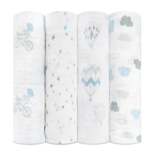 aden + anais night sky 4 pack swaddles