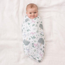 Load image into Gallery viewer, aden + anais forest fantasy 4 pack swaddles