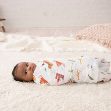Load image into Gallery viewer, aden + anais around the world 4 pack swaddles