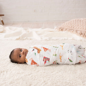 aden + anais around the world 4 pack swaddles