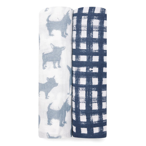aden + anais 2 pack swaddles 'waverly'