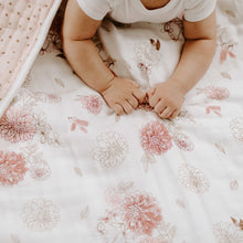 Load image into Gallery viewer, aden + anais dahlias dream blanket