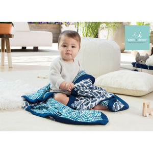 aden + anais seaport silky soft dream blanket