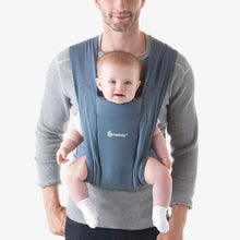 Load image into Gallery viewer, Embrace Cozy Newborn Carrier Oxford Blue