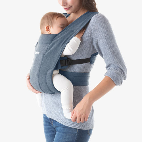 Embrace Cozy Newborn Carrier Oxford Blue