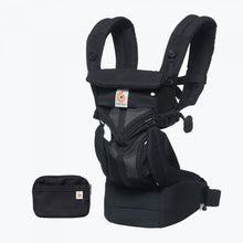 Load image into Gallery viewer, Omni 360 Baby Carrier All-In-One Cool Air Mesh - Onyx Black