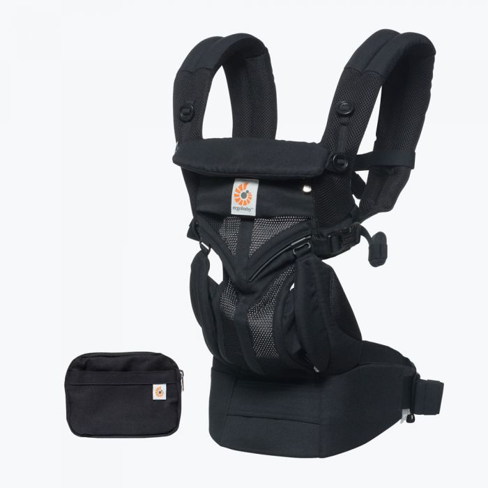 Omni 360 Baby Carrier All-In-One Cool Air Mesh - Onyx Black