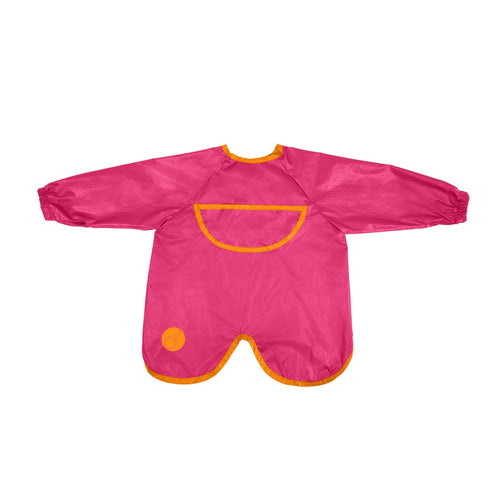 Smock Bib – Strawberry Shake