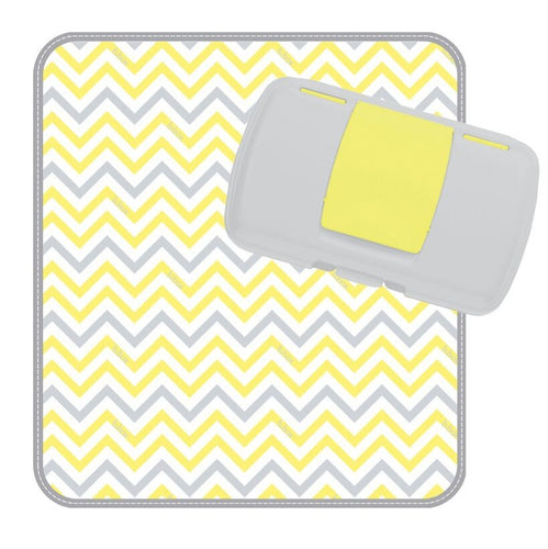 Diaper Wallet - Mellow Yellow