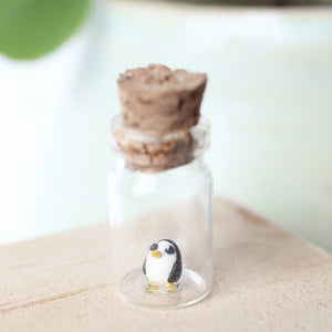Micro Bottle Penguin