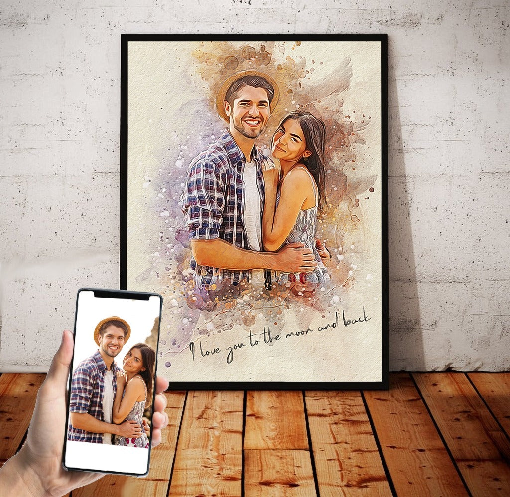 Personalized photo Painting