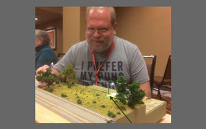 Dwarvin breaks into N-Scale without trying!