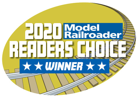2020 Model Railroader Readers Choice Winner