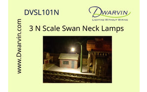 N Swan Neck Lamp Set