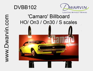 Camaro Billboard Utilizing Fiber Optic Lights