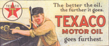 Texaco Billboard