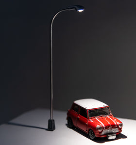 Highway lamp with one car