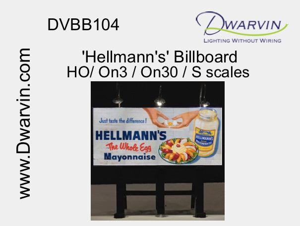 Hellman's Billboard Utilizing Fiber Optic Lights