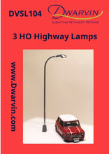Highway lamp label