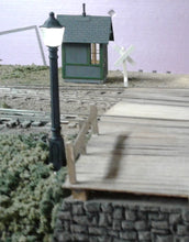 O Scale Carriage Lamps outside