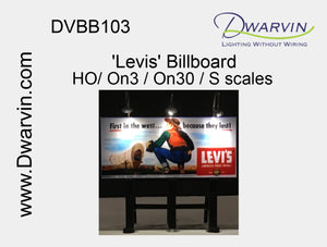 Levis Billboard label
