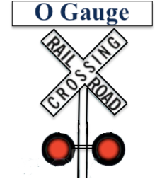 O Gauge RailRoad Crossing
