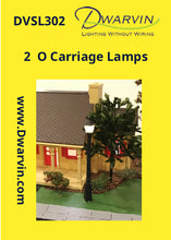 O Scale Carriage Lamps