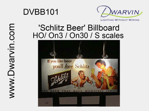 Schlitz Beer Billboard
